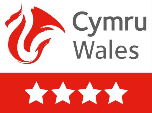 CYmru Wales 4 star rating